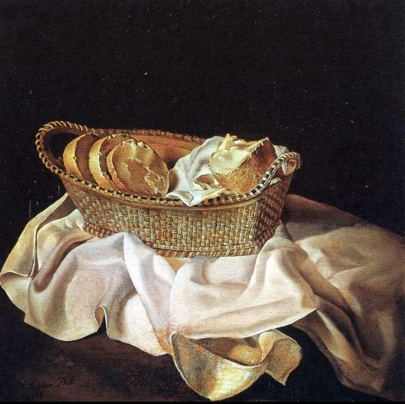 Кошик з хлібом   Сальвадор Далі