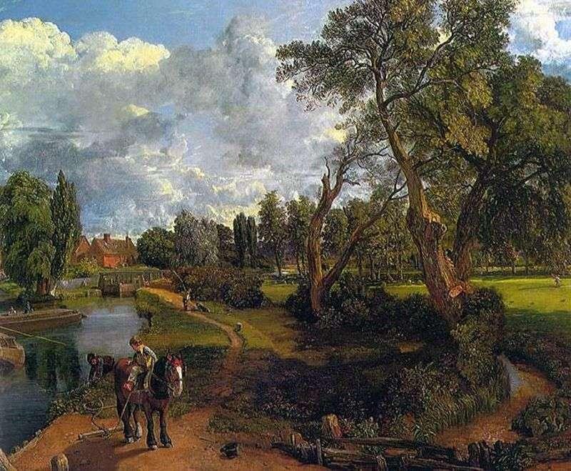 Флэтфордская млин (Сцена на судноплавній річці)   Джон Констебл