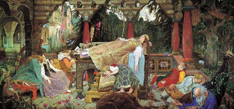 Казка про сплячу царівну   Віктор Васнецов