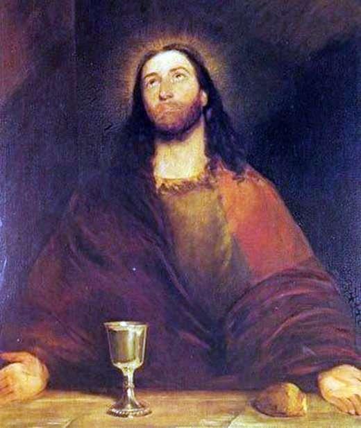 Христос освячує хліб і вино   Джон Констебл