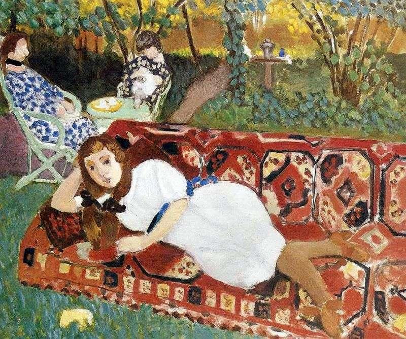 Молоді жінки в саду   Анрі Матісс