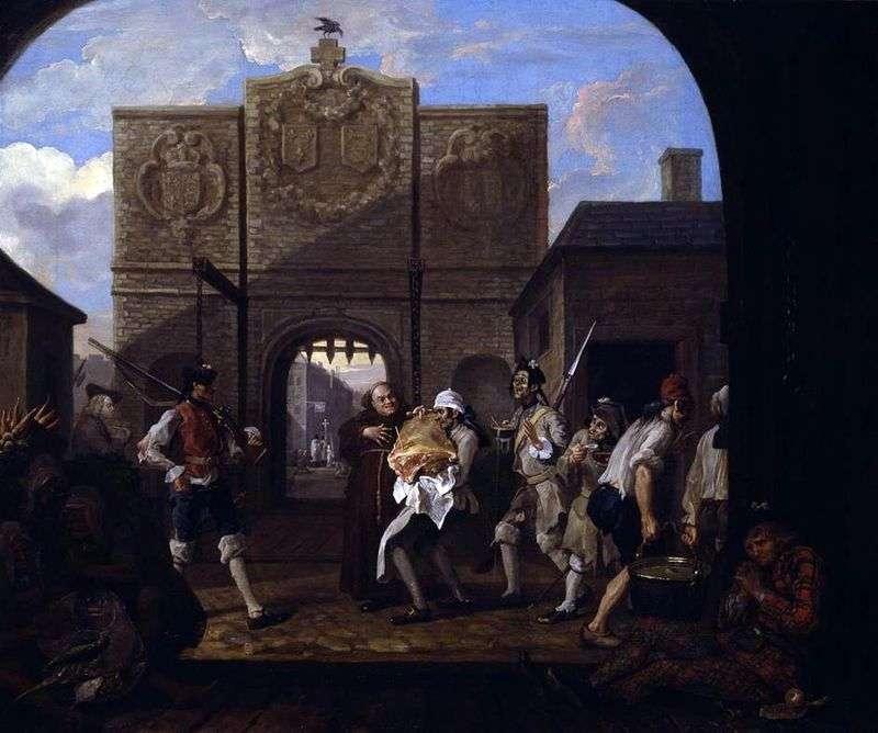 Ворота Кале, або, ростбіф старої Англії   Вільям Хогарт