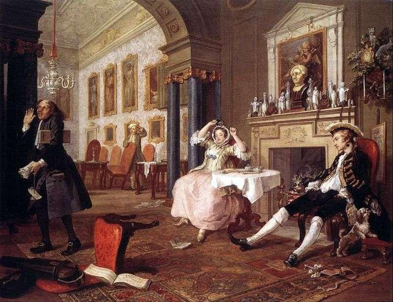 Незабаром після весілля   Вільям Хогарт