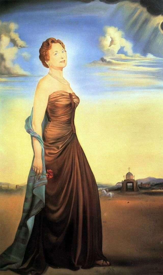 Мадам Різ   Сальвадор Далі