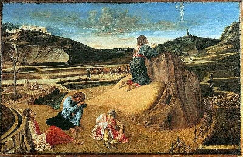 Моління про чашу або Агонія в саду   Джованні Белліні