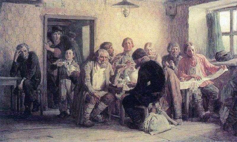 Чаювання в трактирі (харчевні)   Віктор Васнецов