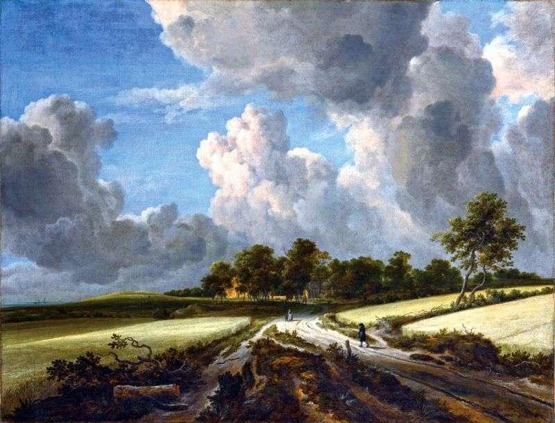 Хлібне поле   Якоб ван Рейсдал