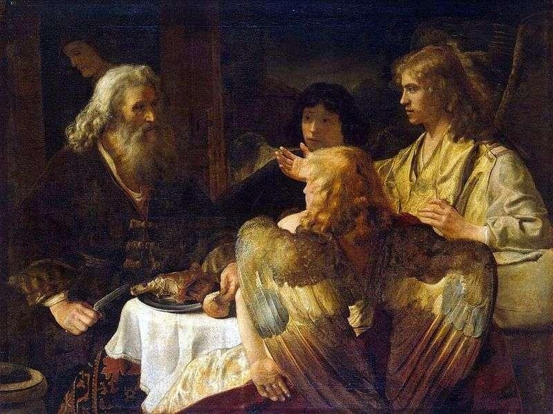 Авраам і три ангела   Рембрандт Харменс Ван Рейн
