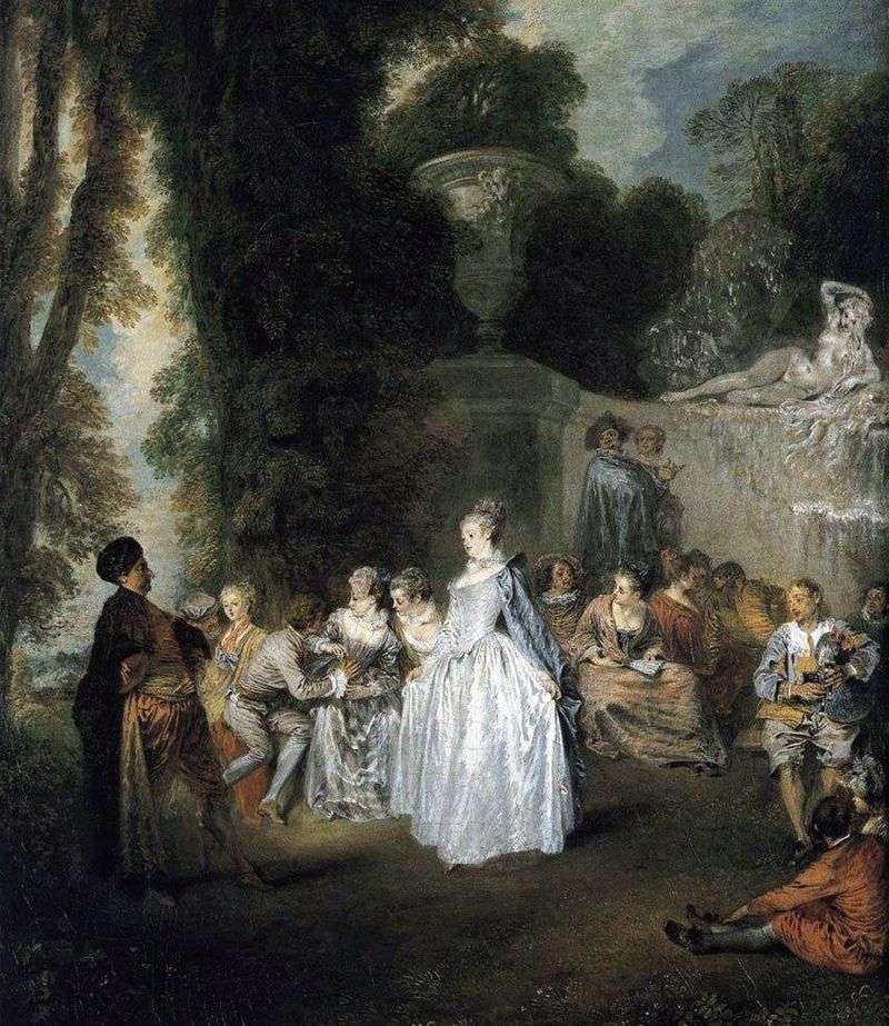 Венеціанський свято   Жан Антуан Ватто