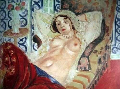 Одаліска в червоних шароварах   Анрі Матісс
