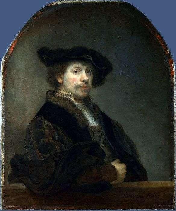 Автопортрет у віці 34 років   Рембрандт Харменс Ван Рейн