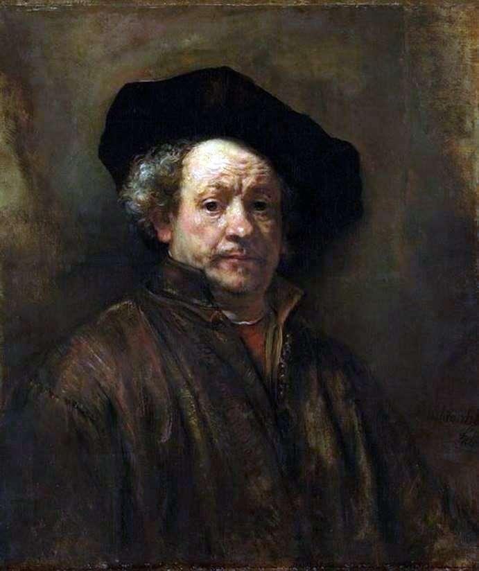 Автопортрет у віці 54 років   Рембрандт Харменс Ван Рейн