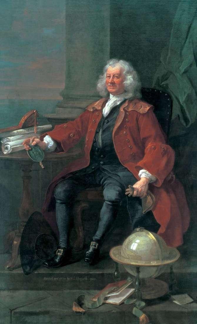 Портрет капітана Т. Корема   Вільям Хогарт