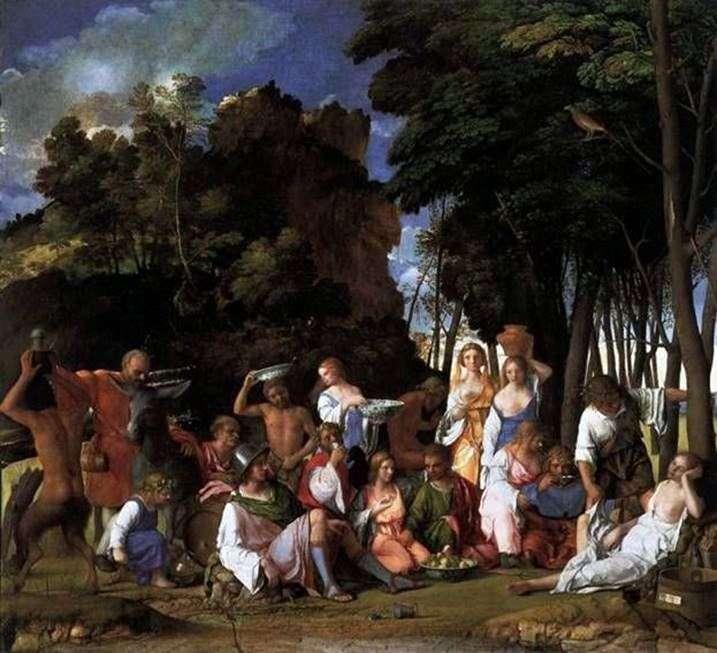 Бенкет богів   Джованні Белліні