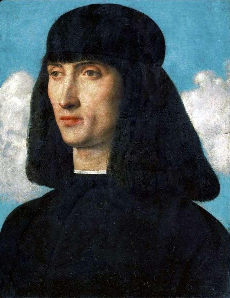 Портрет молодої людини   Джованні Белліні