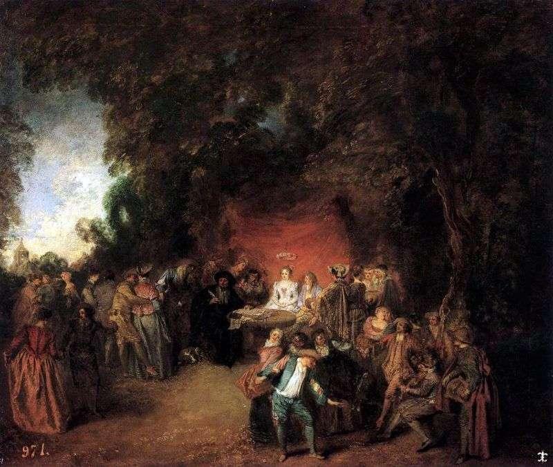 Укладення шлюбного договору   Жан Антуан Ватто