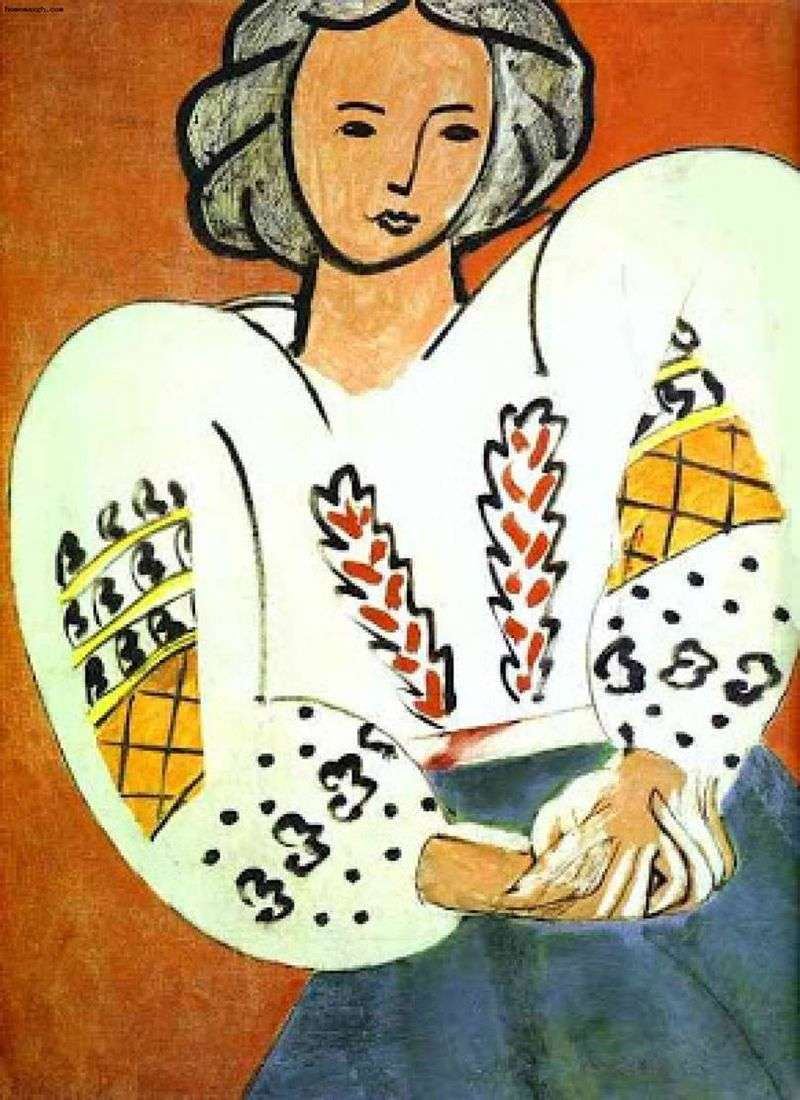Румунська блуза   Анрі Матісс