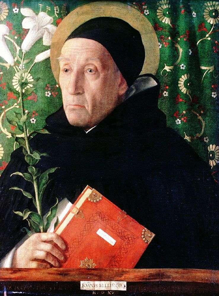 Фра Теодоро Урбинский в образі св. Домініка   Джованні Белліні