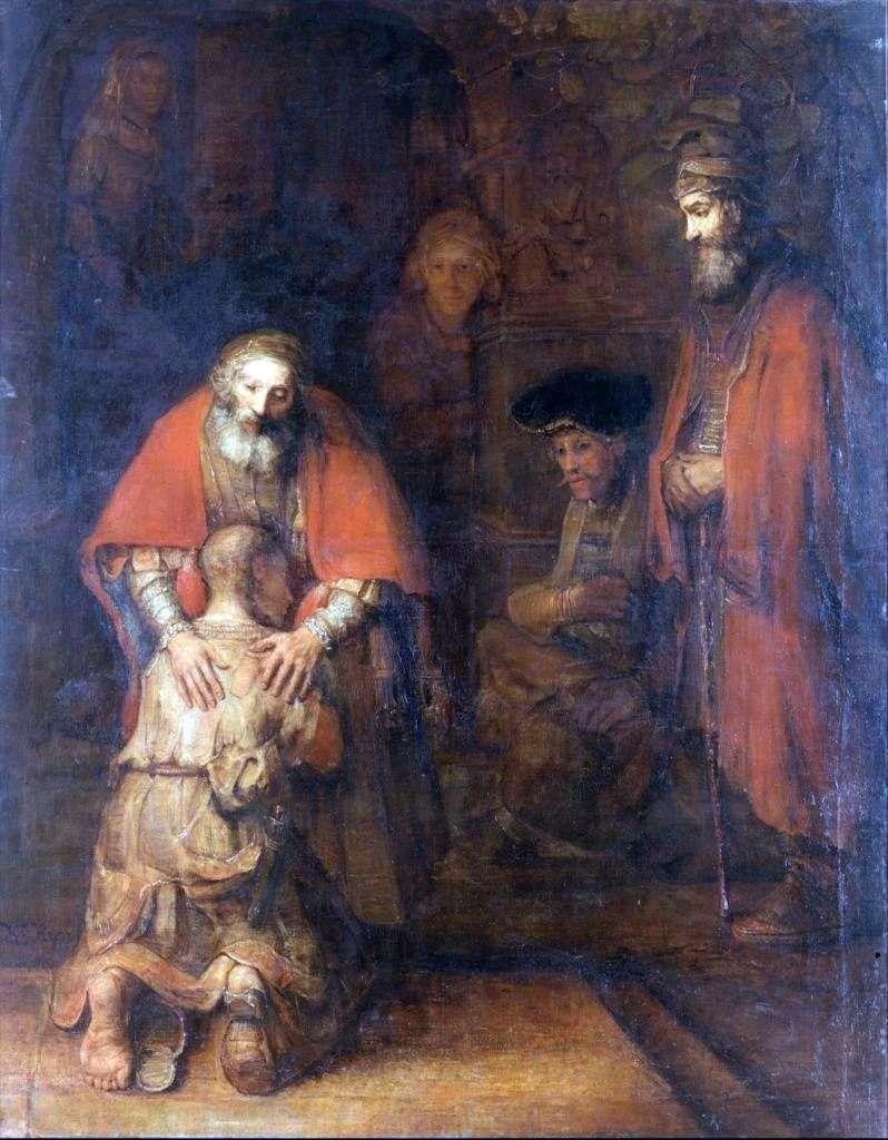Повернення блудного сина   Рембрандт Харменс Ван Рейн