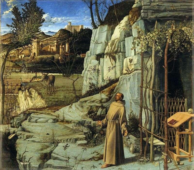 Екстаз Св. Франциска   Джованні Белліні