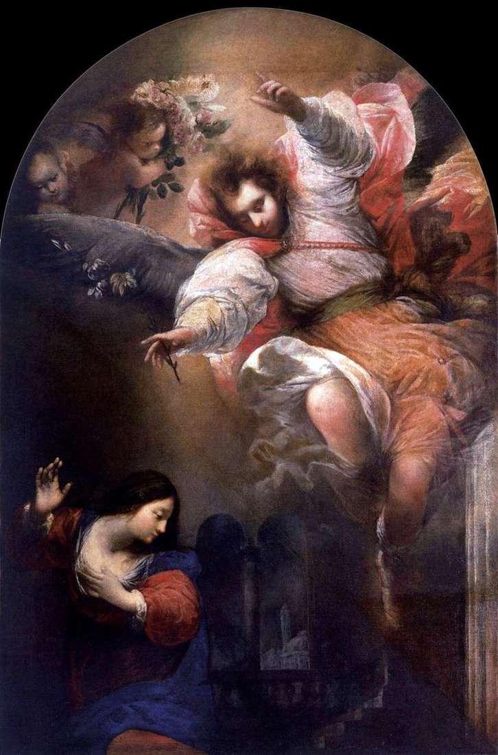 Благовіщення   Себастьяно Вінсент, Джон Маццоні