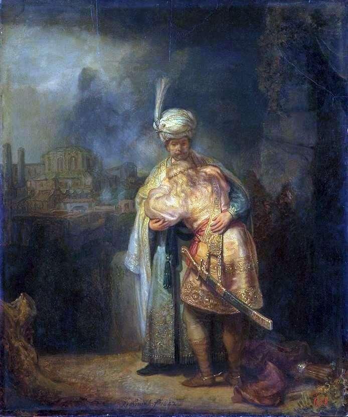 Давид і Іонафан   Рембрандт Харменс Ван Рейн