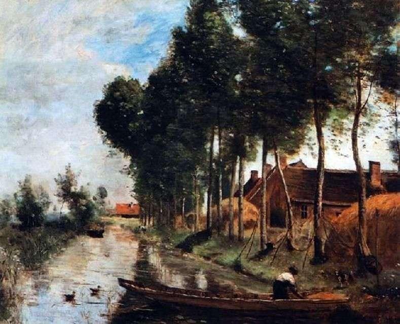 Пейзаж в Арле дю Нор   Каміль Коро