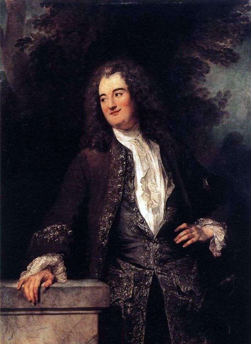 Портрет кавалера   Жан Антуан Ватто