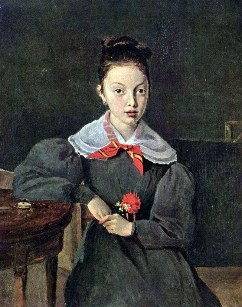 Портрет Октавії Сеннегон   Каміль Коро