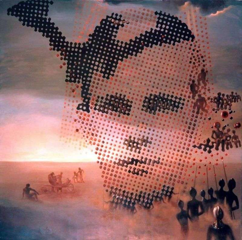 Портрет мого померлого брата   Сальвадор Далі