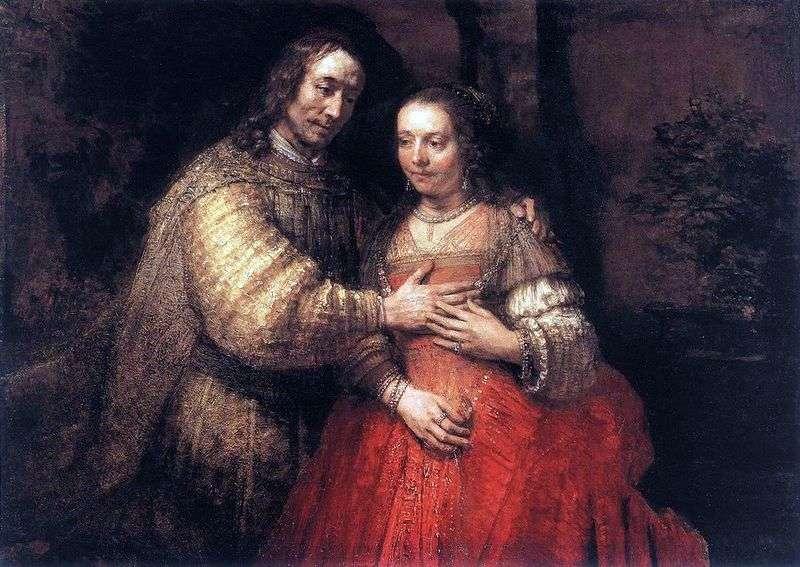 Єврейська наречена   Рембрандт Харменс Ван Рейн