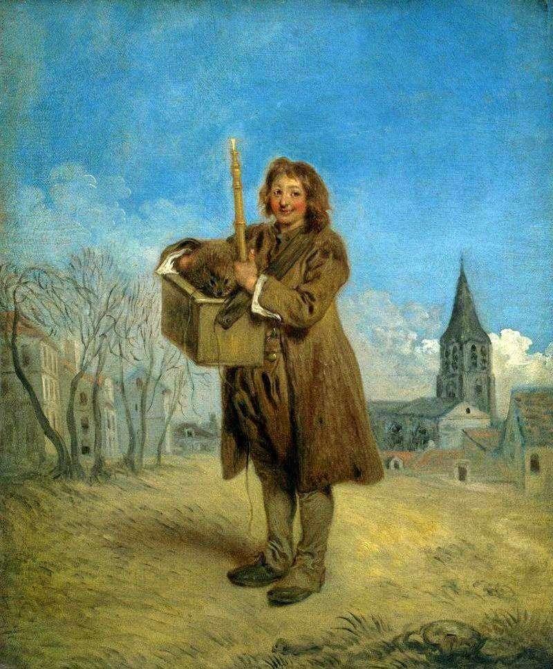Савояр з бабаком   Жан Антуан Ватто