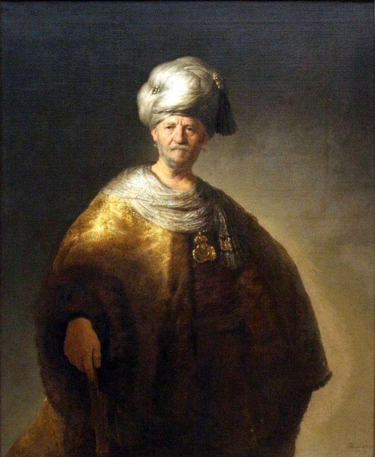 Знатний словянин   Рембрандт Харменс Ван Рейн