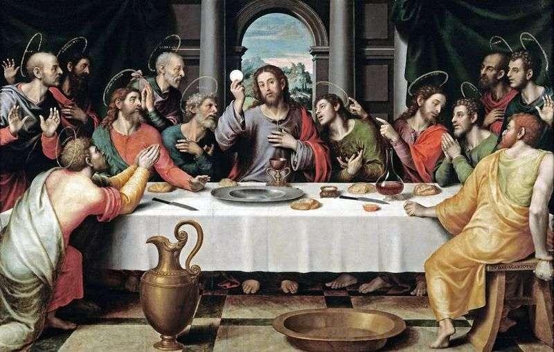 Таємна вечеря   Хуан де Хуанес