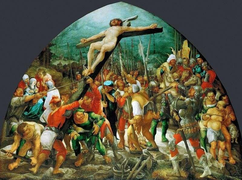 Воздвиження хреста   Вольф Хубер