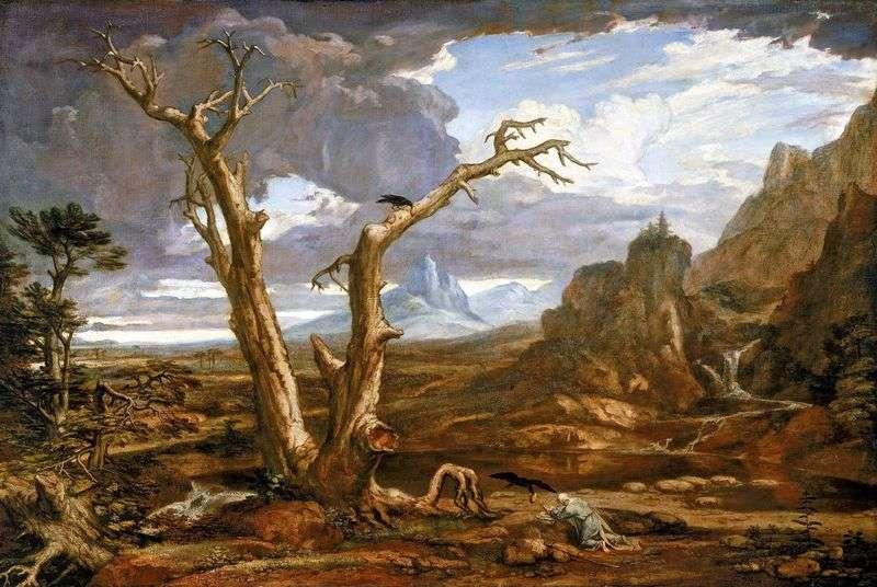 Ілля в пустелі   Олстон Вашингтон