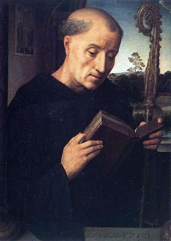 Святий Бенедикт   Ганс Мемлінг