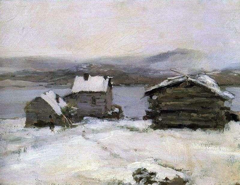 Зима в Лапландії   Костянтин Коровін