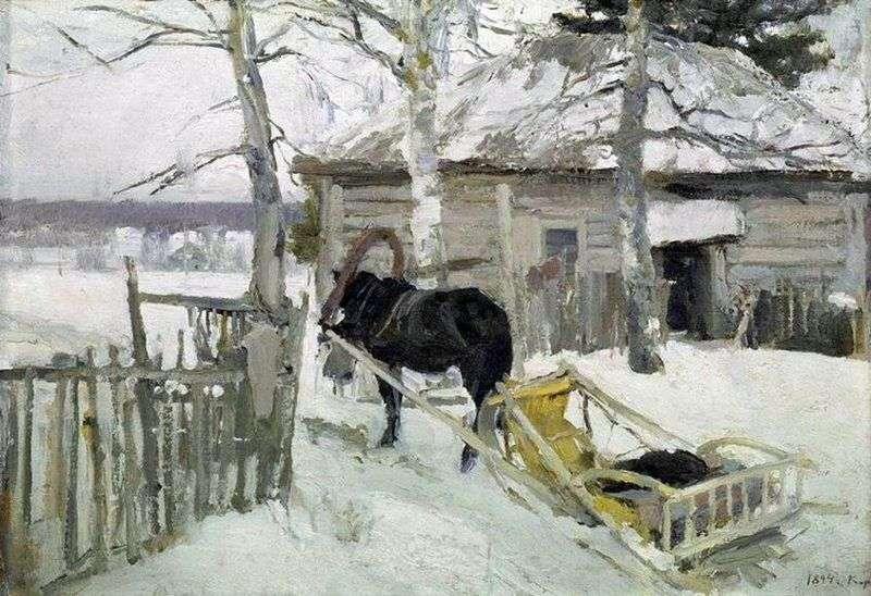 Взимку   Костянтин Коровін