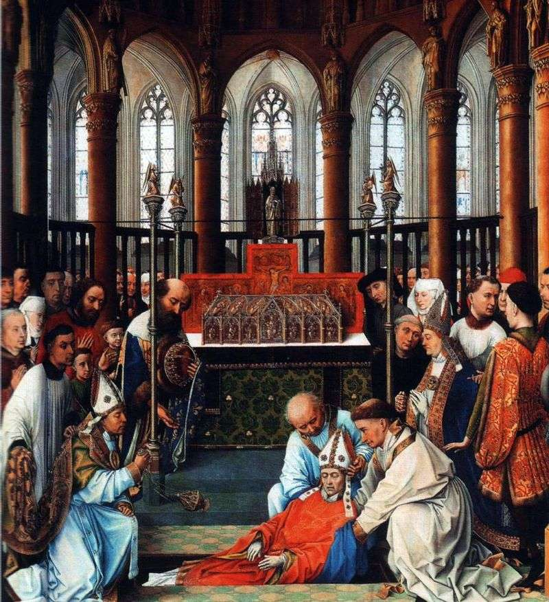 Набуття мощей Святого Губерта   Рогир ван дер Вейден