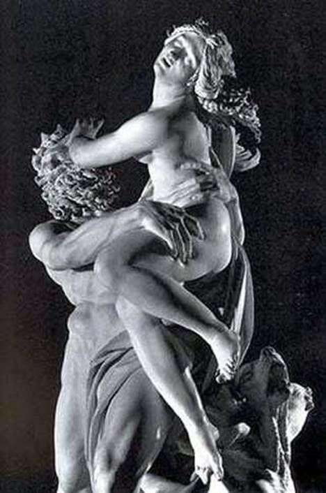 Викрадення Прозерпіни (фрагмент)   Лоренцо Берніні
