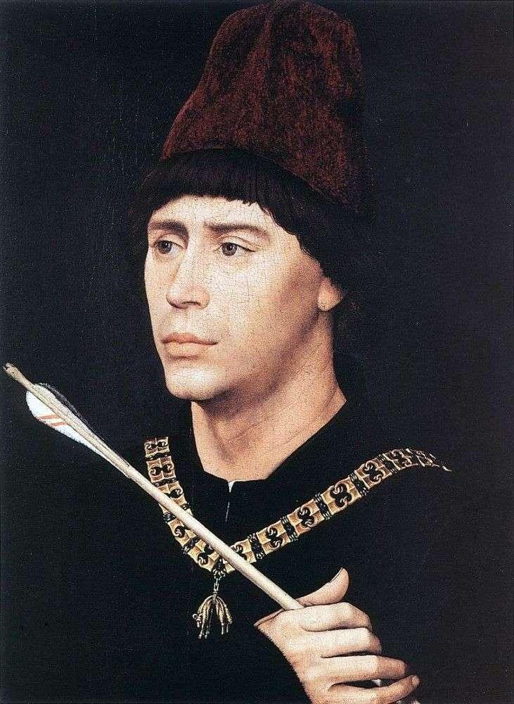 Портрет Антуана Бургундського   Рогир ван дер Вейден