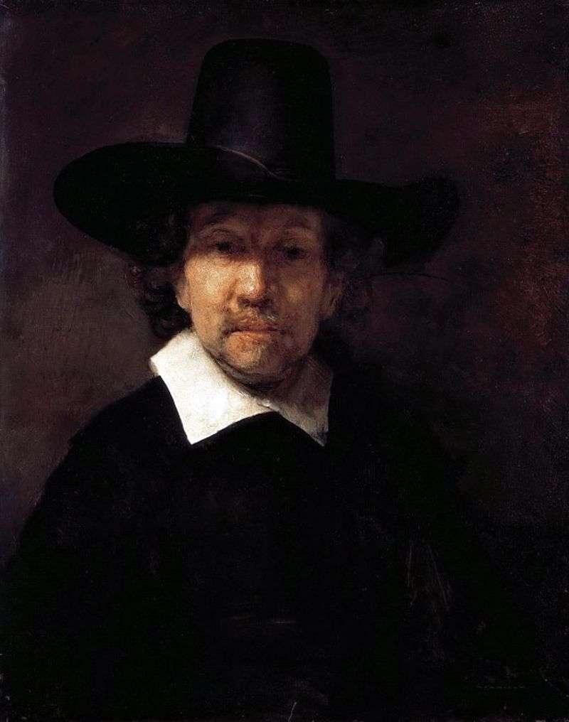 Портрет Єремії Деккера   Рембрандт Харменс Ван Рейн