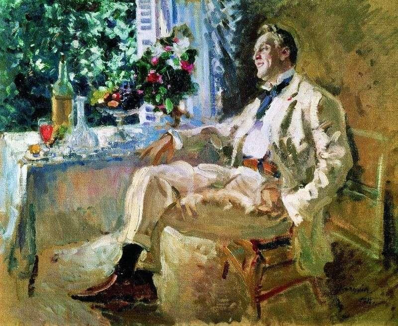 Портрет Шаляпіна   Костянтин Коровін