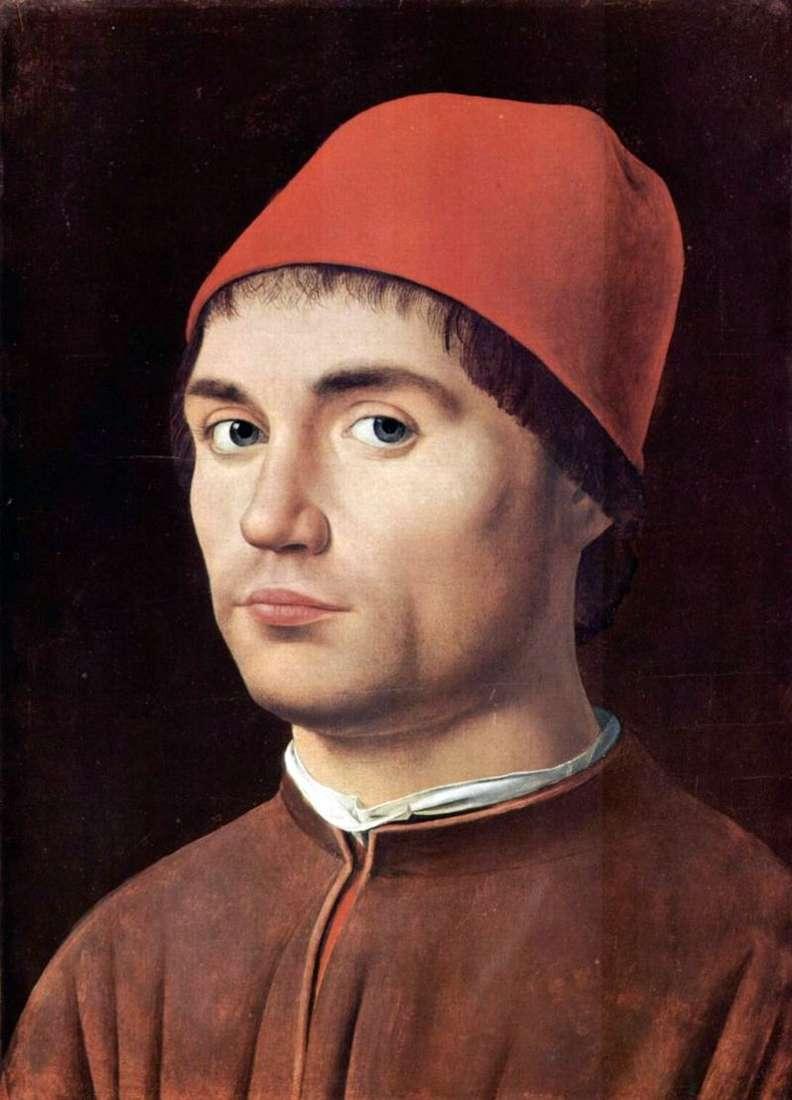 Чоловічий портрет   Антонелло да Мессіна