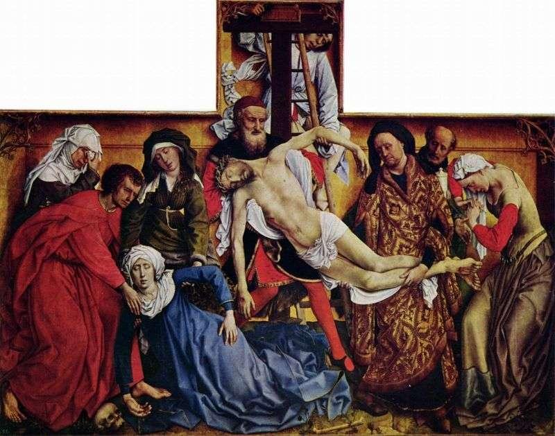 Зняття з хреста   Рогир ван дер Вейден