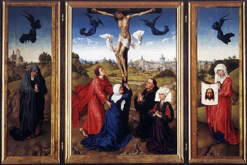 Триптих Розпяття   Рогир ван дер Вейден