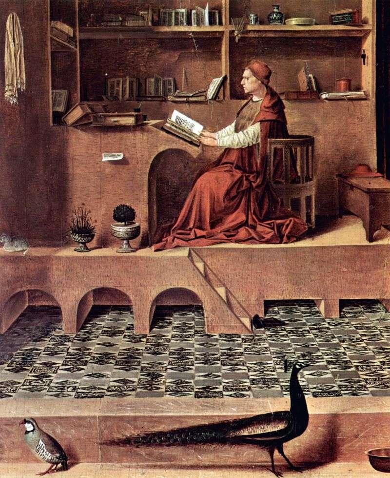 Святий Ієронім у келії   Антонелло да Мессіна