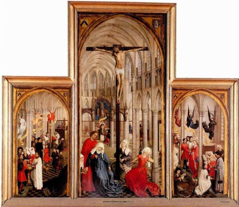 Триптих Сім таїнств   Рогир ван дер Вейден