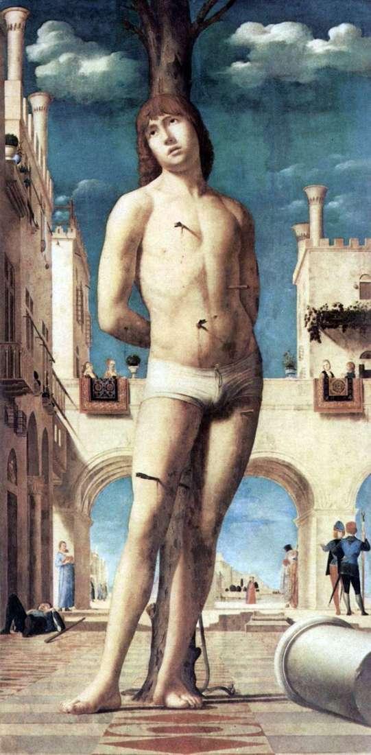 Святий Себастьян   Антонелло да Мессіна